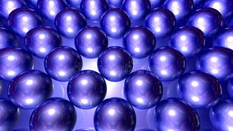 Download Blue bubbles stock illustration. Illustration of bubble - 16843109