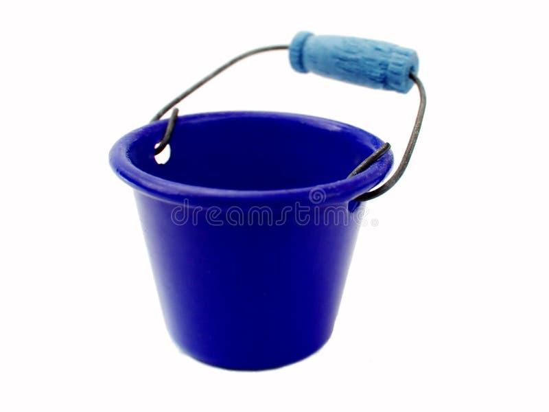 Blue Bucket stock photos