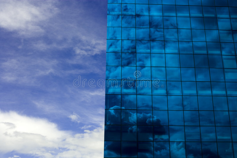 Download Blue Building stock image. Image of hitech, office, aspirational - 2251869