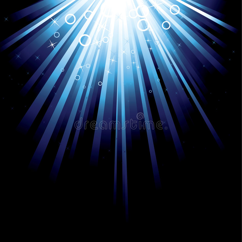 Download Blue Burst Royalty Free Stock Photos - Image: 8574158