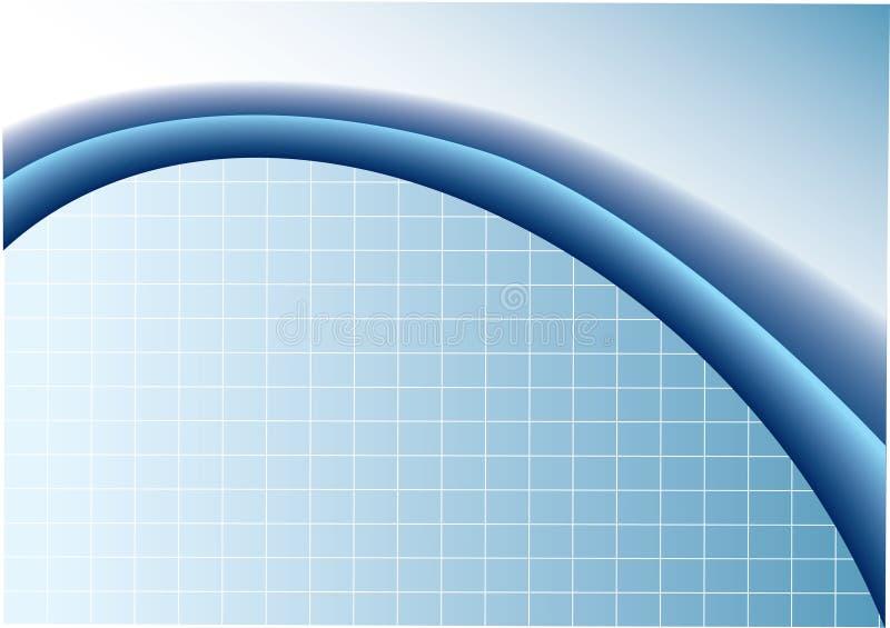 Blue business vector illustration