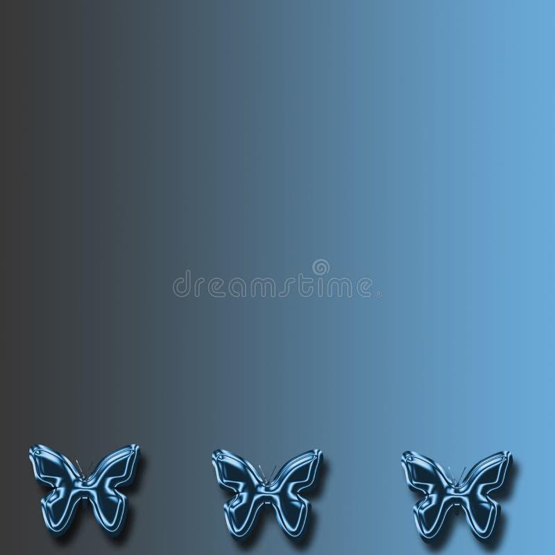 Download Blue butterfly background stock illustration. Illustration of copy - 4058548
