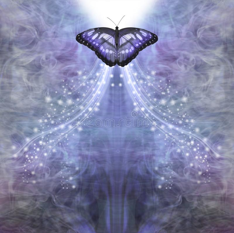 Free Blue Butterfly Passing Into The Light Royalty Free Stock Photos - 154767868