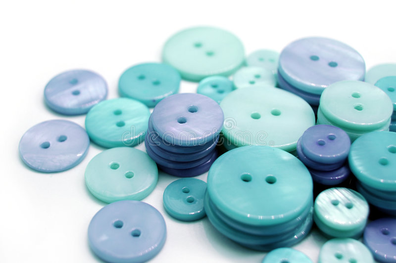 Blue Buttons royalty free stock photo