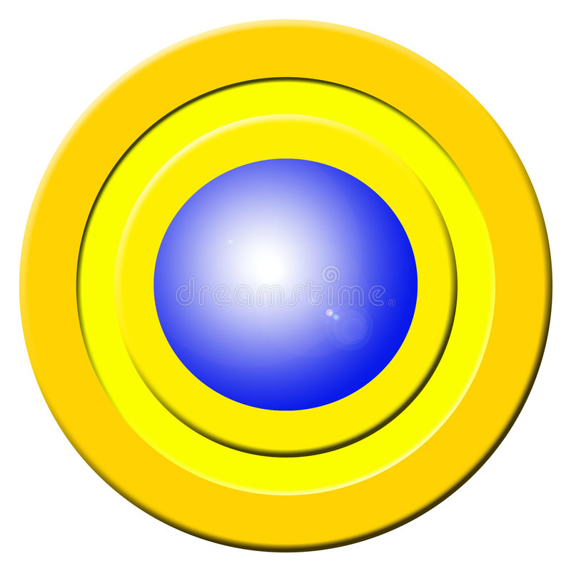 Download Blue Buzzer Button Stock Illustration Of Click