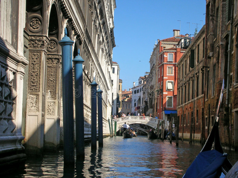 Blue canal stock photos