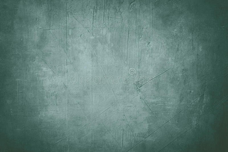 Blue canvas background or texture. With dark vignette borders royalty free stock photography