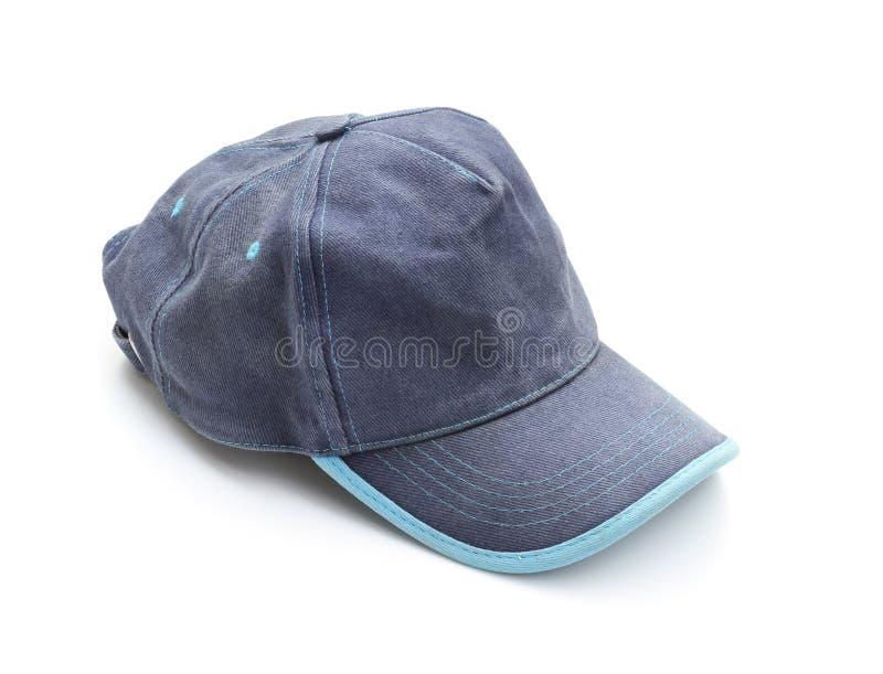 Blue cap stock photo