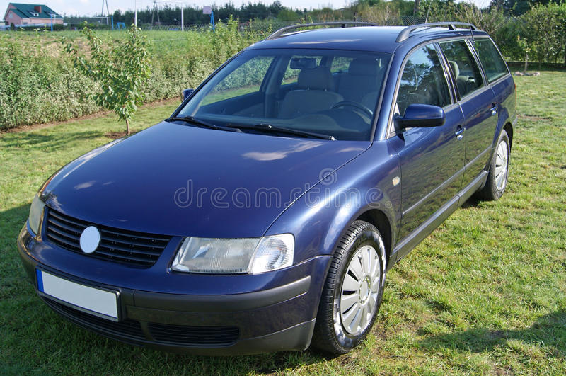 Blue Car Royalty Free Stock Image