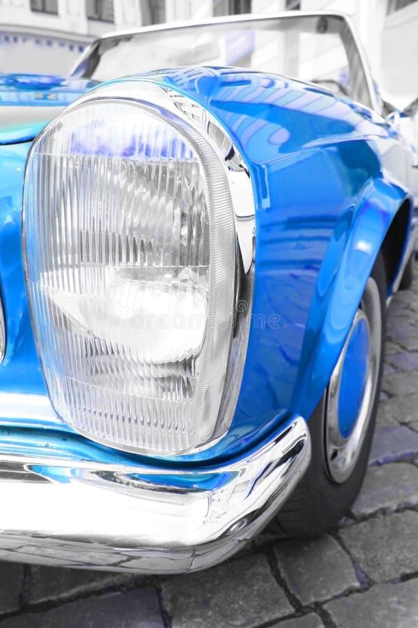 Blue car stock photos