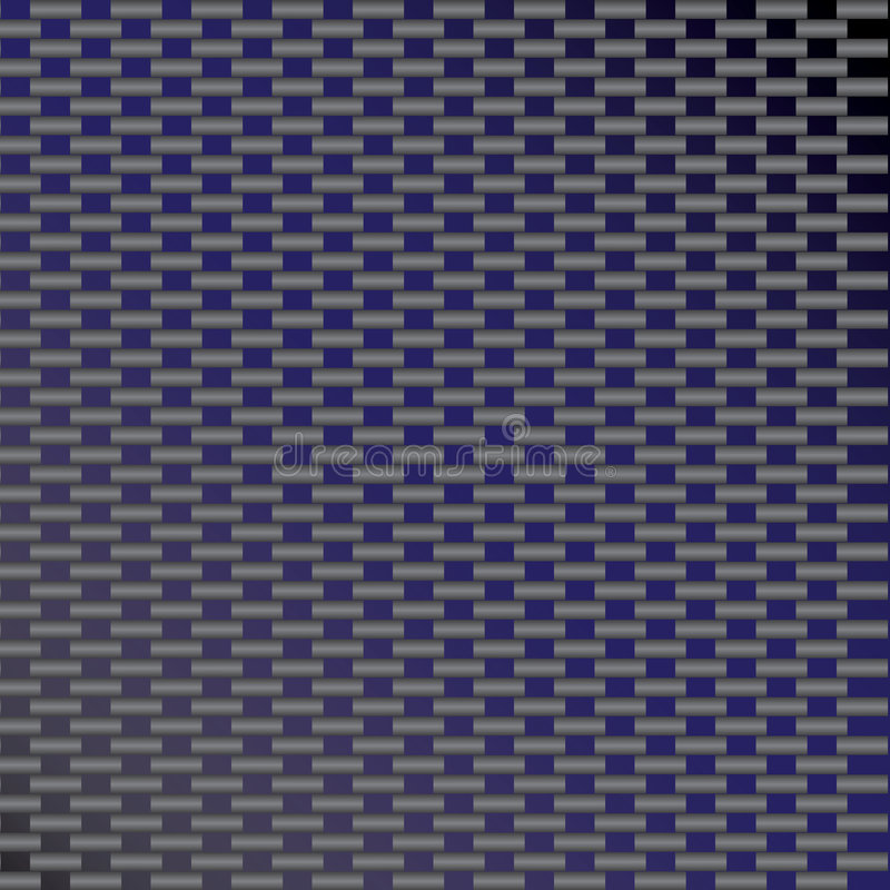 Blue Carbon Fiber Vector royalty free illustration
