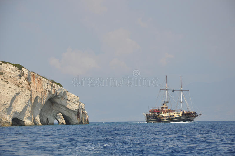 Download Blue Caves On Zakynthos, Greece Stock Photo - Image: 27239976