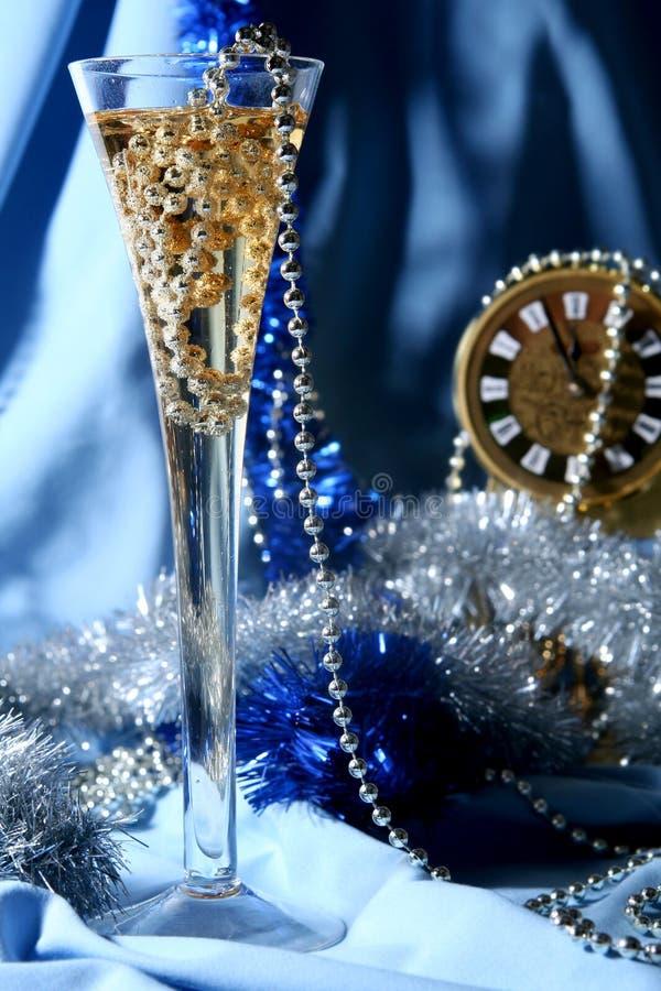Blue celebration stock photography