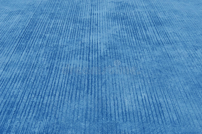 Blue cement sidewalk royalty free stock image