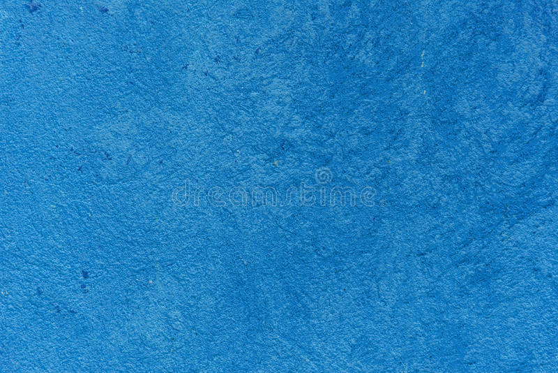 Blue cement sidewalk wall royalty free stock photo