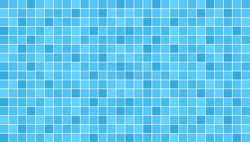 Blue ceramic floor and wall tiles. Abstract vector background. vector illustration