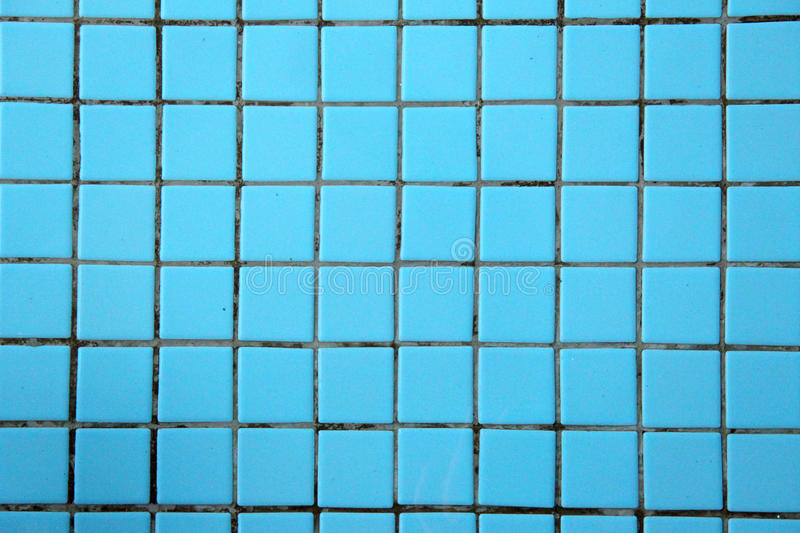 BLUE CERAMIC TILE TEXTURE OR BACKGROUND royalty free stock photos