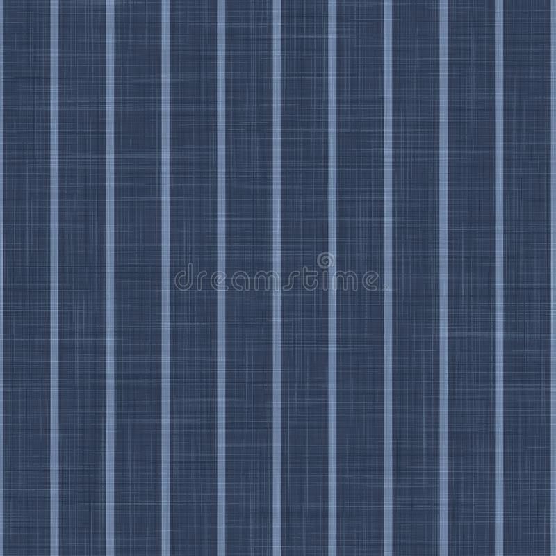 Free Blue Chambray Pinstripe Texture Background. Classic Preppy Shirting Stripe Seamless Pattern. Close Up Weave Suit Fabric In Denim Stock Image - 165585061