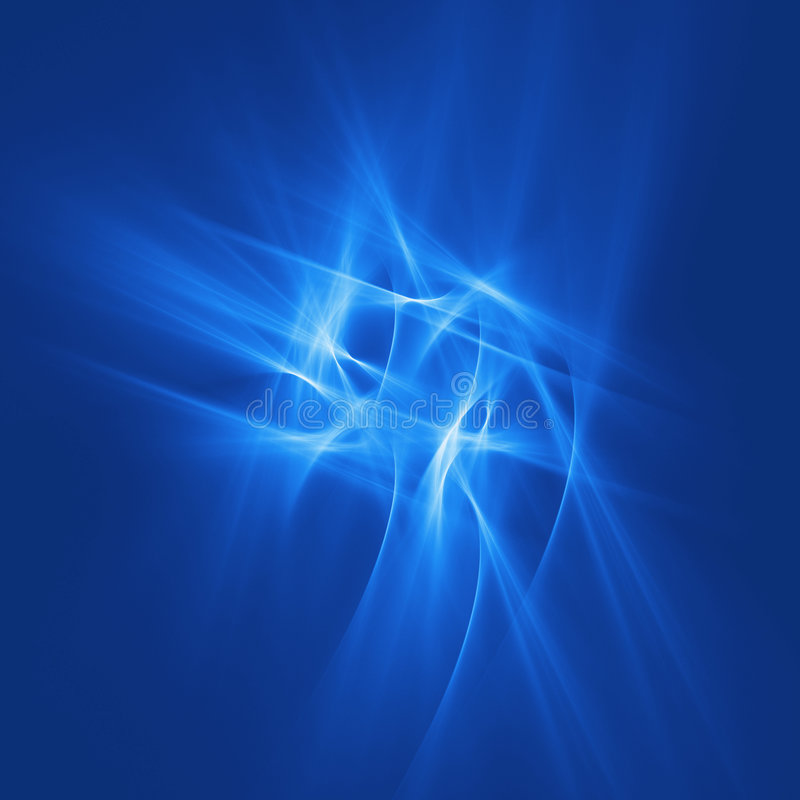 Download Blue Chaos Rays Royalty Free Stock Images - Image: 1651879
