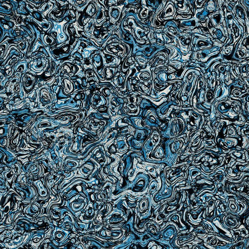 Blue Chaotic Background map. Frame paintings that can be used directly as modern art royalty free stock photos