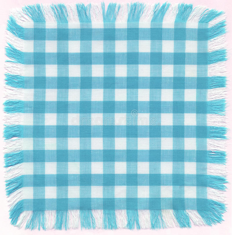 Blue checkered royalty free stock image