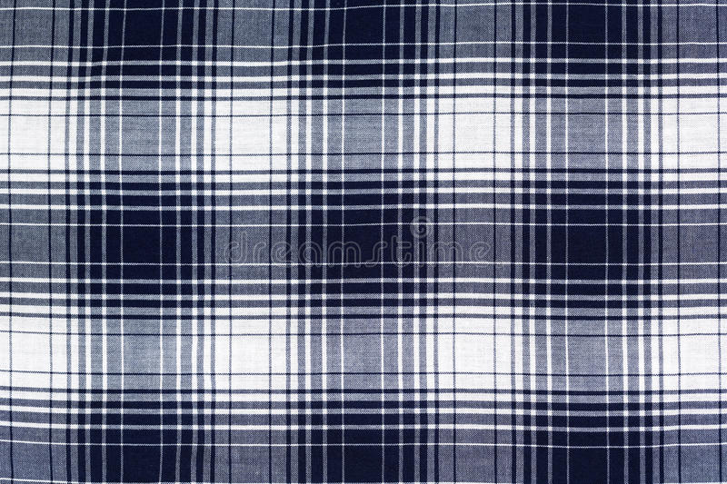Blue checkered background stock photography