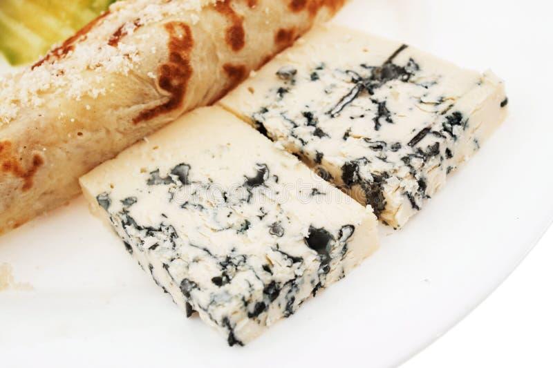 Blue Cheese Pancake Royalty Free Stock Image
