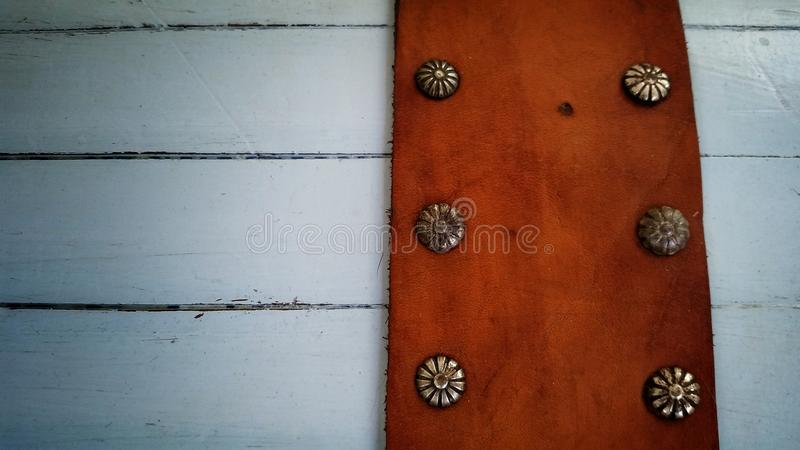 Blue chest detail royalty free stock photos