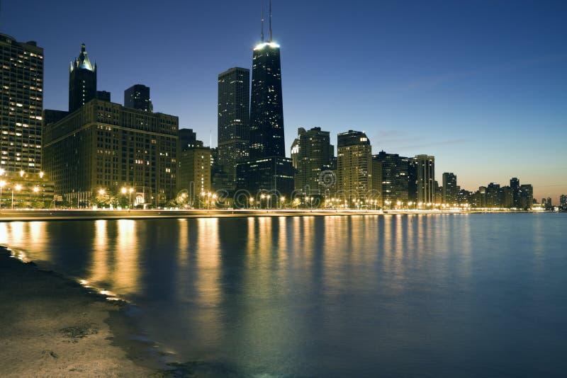 Blue Chicago royalty free stock photos