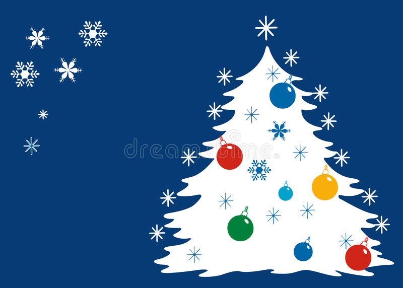 Blue Christmas. royalty free illustration