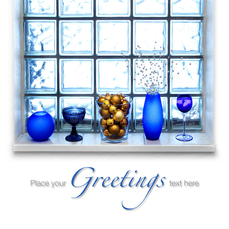 Download Blue Christmas arrangement stock photo. Image of christmas - 19388772