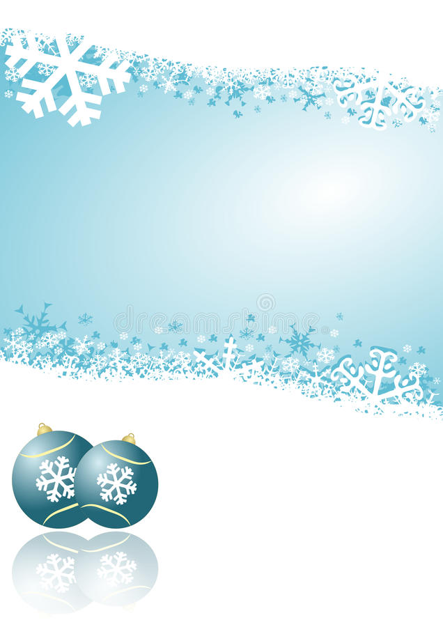 Free Blue Christmas Background Royalty Free Stock Photo - 16704775
