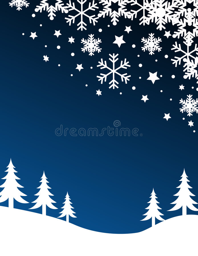 Blue christmas background. Vector illustration vector illustration