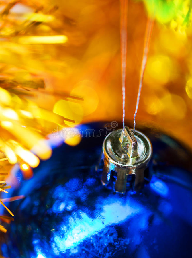 Download Blue Christmas Ball Hang In Decoration Royalty Free Stock Photo - Image: 28097825