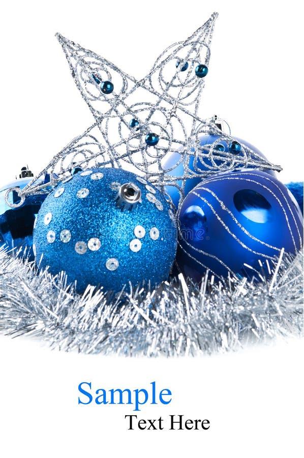 Download Blue Christmas Balls Royalty Free Stock Photo - Image: 22681195