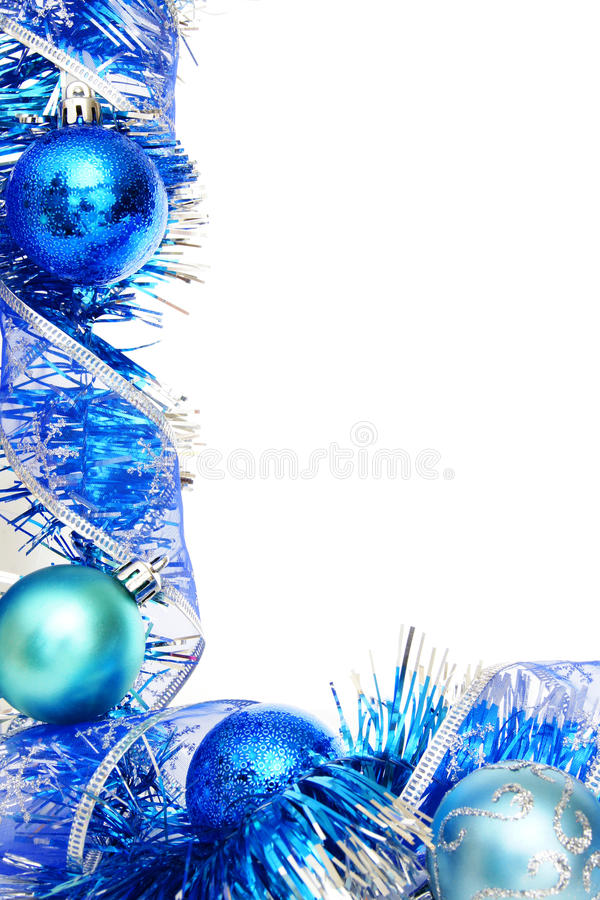 Blue Christmas Border Royalty Free Stock Photo - Image: 27651045