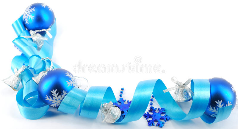 Download Blue Christmas decoration stock image. Image of season - 11675989