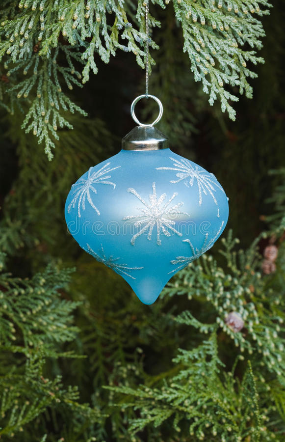 Download Blue christmas decoration stock image. Image of baubles - 15904067