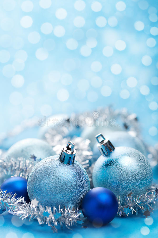Download Blue christmas decoration stock image. Image of pattern - 22083063