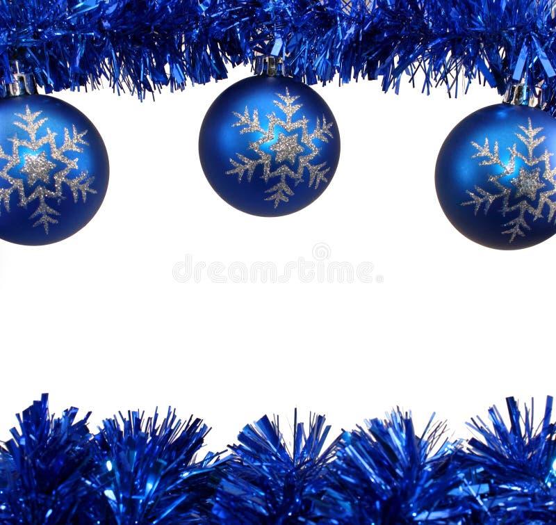 Free Blue Christmas Decorations Stock Image - 22426491