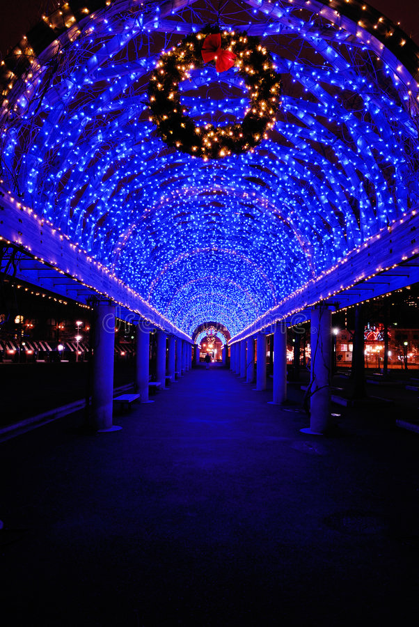 Blue christmas lights in boston stock photo image of path download blue christmas lights in boston stock photo image of path columbus 3867832 sciox Images