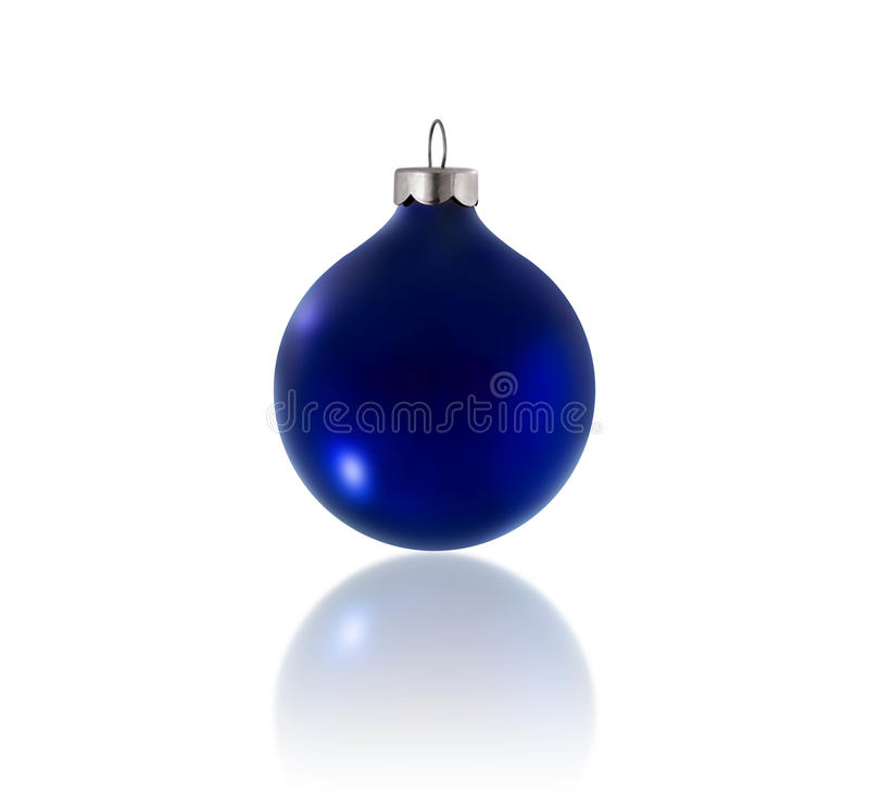 Download Blue Christmas Ornament stock image. Image of bauble - 11673813