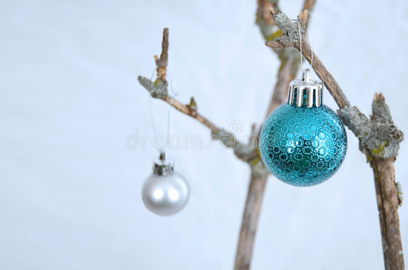 Download Blue christmas stock image. Image of cold, blur, fresh - 32994229