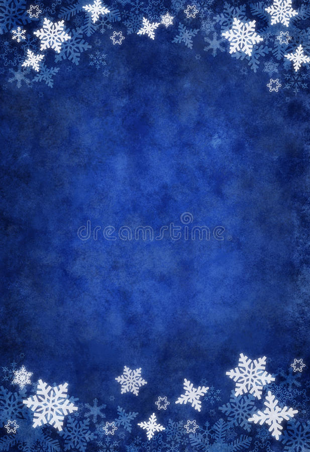 Download Blue Christmas Snowflake Background Stock Images - Image: 11822244