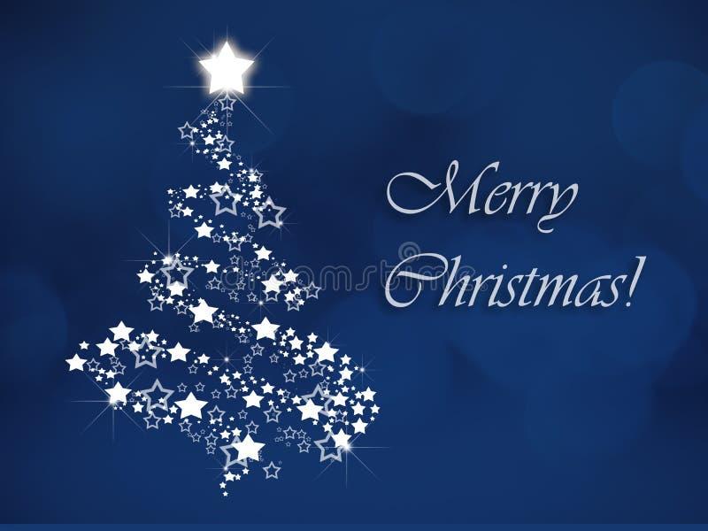 Blue, Christmas Tree, Text, Sky royalty free stock photos