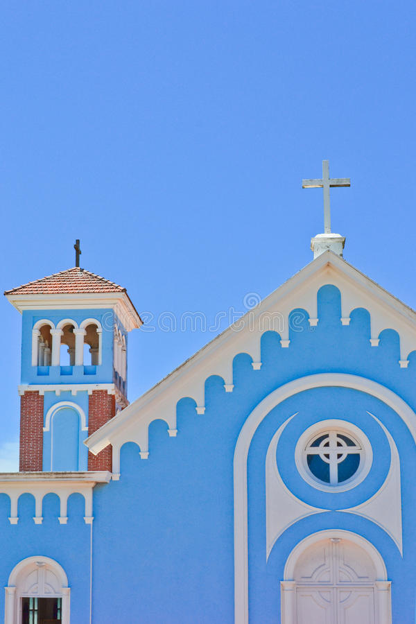 Free Blue Church Stock Images - 22274424