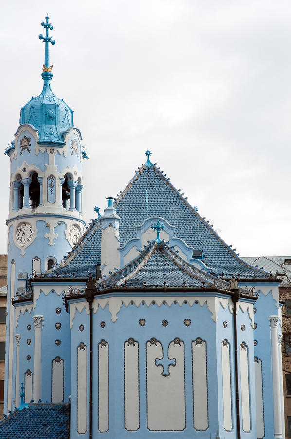 Download Blue church stock image. Image of landmark, travel, tower - 23819923