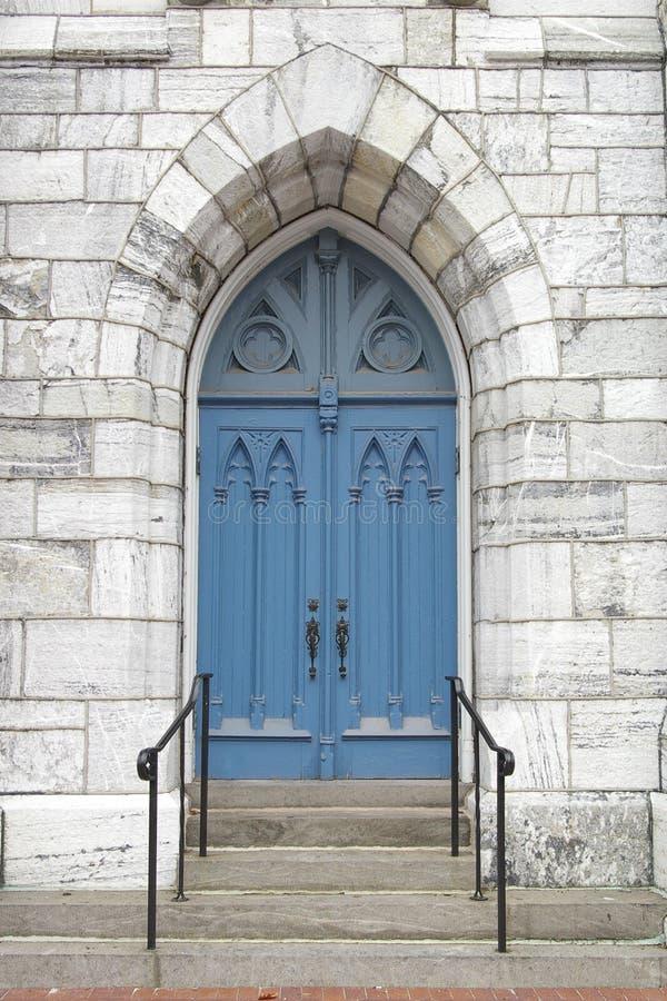 Download Blue Church Door Royalty Free Stock Photos - Image: 1625638