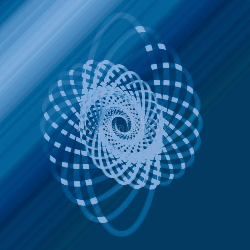 Blue, Circle, Azure, Spiral stock image