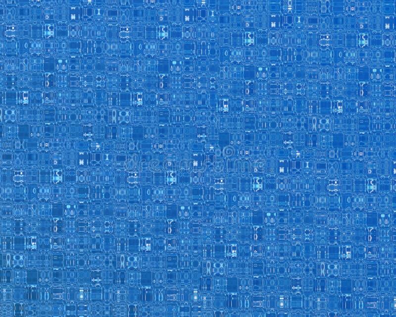Blue Circuit royalty free illustration